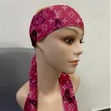 Printed Sports Headband Sweat-absorbent Band