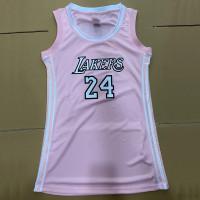 Sleeveless Letter Print  Ladies Baseball Shirt Dress