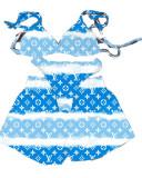 3 Piece Set Printed Bikini Set and Shorts (Available 15th May)