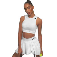 Casual Embroidered Vest and Pleated Double-layer Culottes