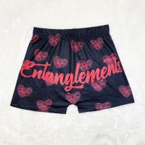 Ladies Pattern Printed Yoga Shorts