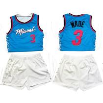 Two-Piece Double-sided Pattern Printed Sleeveless Bandage Shorts Set