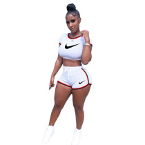 Casual Embroidered Two Piece Pants Set Women Clothing