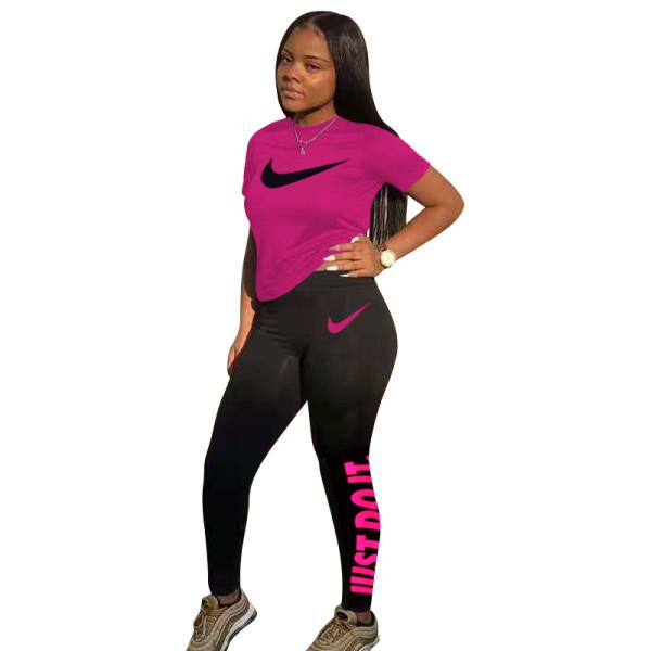 Nike Clothing Cotton Printed Two Piece Pants Set