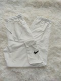 Letter Embroidery Cotton Jogging Trousers