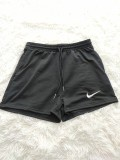 Letter Embroidery Cotton Jogging Shorts
