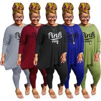 Plus Size Clothing Near Me Printed 2 Piece Pant Set