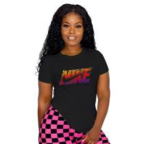 Summer Offset Women's T-shirts Top
