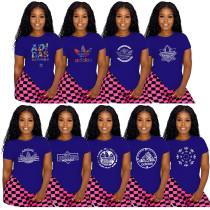 Simple Summer Offset Brand Women's T-shirts