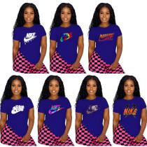 Offset Lady's Shirt Women's Blouse