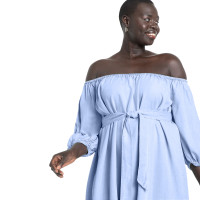 Sexy Off Shoulder Pleated Club Dress with Belt