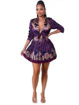 Ladies Office Cardigan Pleated Skirt Workwear Set