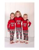 Parent-child Christmas Christmas Printed Pajama Loungewear Set For Girl
