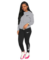 Designer Clothes Sweatpants and Hoodie Set Sports Embroidery Casual Two Piece