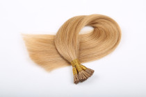 18# Dirty Blonde Brazilian Remy Human Hair Stick Tip Extensions