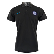 Chelsea Polo Shirt Champions League Black 2017