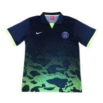 PSG Polo Shirt Camouflage Green 2018