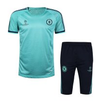 Chelsea Short Training Suit Aqua 2015/16