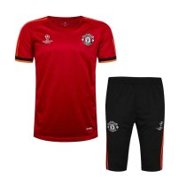 Manchester United Short Training Suit Champions League Red 2015/16