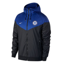 Chelsea Authentic Woven Windrunner Black Men 2017/18