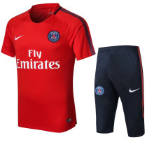 PSG Short Training Suit Red 2017/18