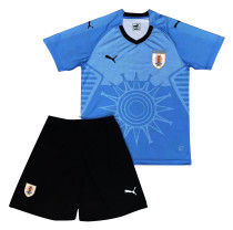Uruguay FIFA World Cup 2018 Home Jersey Kids