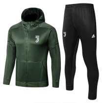 Juventus Hoodie Jacket + Pants Training Suit Green 2017/18