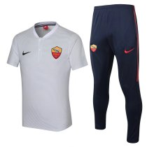 Roma Polo + Pants Training Suit Light Grey 2017/18