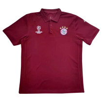 Bayern Munich Polo Shirt Champions League Burgundy 2017