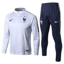 France FIFA World Cup 2018 Training Suit White