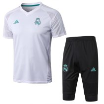 Real Madrid Short Training Suit White 2017/18