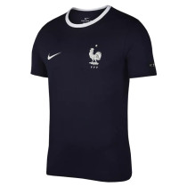 France FIFA World Cup 2018 NIKE Crest T-Shirt Navy Men's