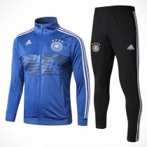 Germany FIFA World Cup 2018 Jacket + Pants Training Suit Blue