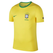 Brazil FIFA World Cup 2018 NIKE Crest T-Shirt Yellow Men's