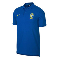Brazil FIFA World Cup 2018 Polo Shirt Blue