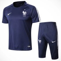 France FIFA World Cup 2018 Short Training Suit Royal Blue