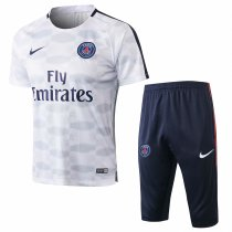 PSG Short Training Suit Light Grey Diamond 2017/18