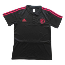 Manchester United Polo Shirt Black 2018