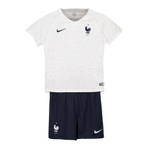 France FIFA World Cup 2018 Away Jersey Kids'
