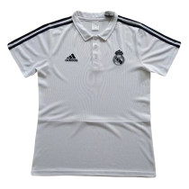 Real Madrid Polo Shirt White 2018