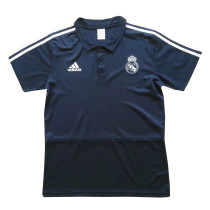 Real Madrid Polo Shirt Royal Blue 2018