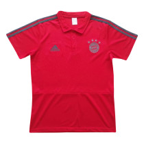 Bayern Munich Polo Shirt Red 2018