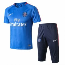 PSG Short Training Suit Light Blue 2017/18