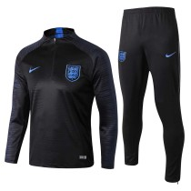 England FIFA World Cup 2018 Training Suit Black Stripe