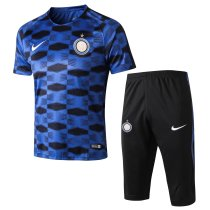 Inter Milan Short Training Suit Blue Diamond 2017/18