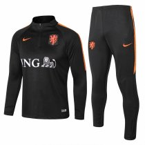 Netherlands 2018 Training Suit Black