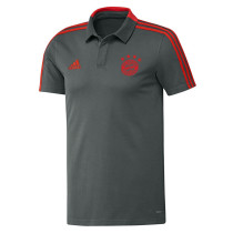 Bayern Munich Polo Shirt Grey 2018