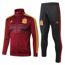 Spain FIFA World Cup 2018 Jacket + Pants Training Suit Burgundy