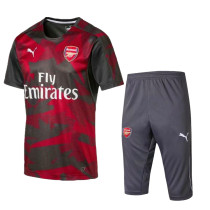 Arsenal Short Training Suit Red 2017/18