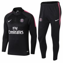 PSG Training Suit Zipper Black 2018/19